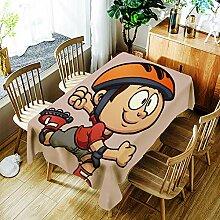 JJHR Tischwäsche Rechteckige Tischdecke