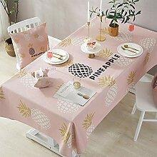 JJHR Tischwäsche Tischdecke Mischgewebe Baumwolle