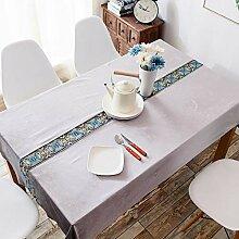 JJHR Tischwäsche Tischdecke Rechteckiges