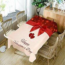 JJHR Tischwäsche Weihnachtstischdecke Polyester