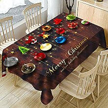 JJHR Tischwäsche Weihnachtstischdecke