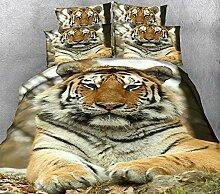 JJLESUN2 (Einseitiges Muster Tiger-Tierbild