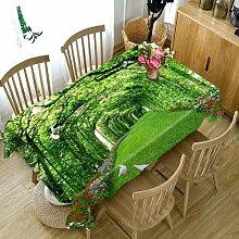 JJLESUN2 Terrassenmöbel Tischabdeckung Rechteckig