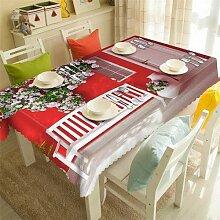 JJLESUN2 Tischdecke Quadratische Terrassenmöbel