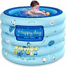 JJLL Baby-Pool, aufblasbarer Baby-Teppich, Folding