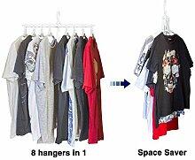 JJMG Zusammenklappbarer Kleiderbügel mit