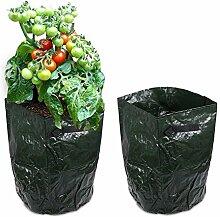 JJOnlineStore–6x Kartoffeltasche Übertopf Grow Your Own Kartoffeln Kartoffel Sack Spud Badewanne Terrasse Gewächshaus Garten Übertopf Staubbeutel–35,6x 45,7cm Zoll