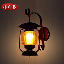 JJZHG Wandleuchte Wandlampe Wasserdicht