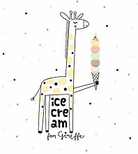 JJZS Wall Sticker Cartoon EIS Giraffe