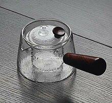 JKAD Glass Tea Brewer Side Cooking Teekanne Glass