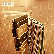 JKHGJUH Hagyh Handtuchhalter, keine Löcher,