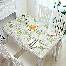 JKHSZKHH Tischtuch für Pvc1,0 Mm Dicke