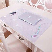 JKHSZKHH Tischtuch für PvcPvc Schreibtisch Schutz