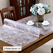 JKHSZKHH Tischtuch für PvcPvc Transparent