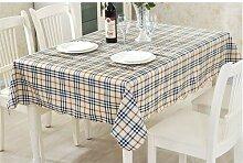 JKHSZKHH Tischtuch für PvcPvc Wasserdicht Tisch