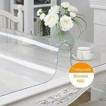 JKHSZKHH Tischtuch für PvcWeiches Glas PVC