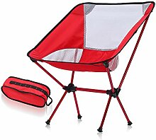 JKLP Camping Klappstuhl leicht tragbar mit Outdoor
