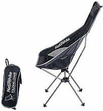 JKLP Camping Stuhl Licht Klappstuhl mit