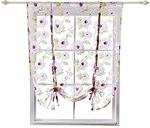 jky Küchenfenster Vorhang Raffrollo Gardinen