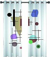 JKZHILOVE Vorhang Blickdicht Gardinen mit Ösen-