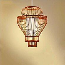JL-Q Bamboo Lantern Kronleuchter, Bird Cage