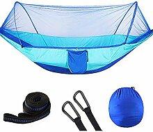JLCP Doppelte Camping-Hängematte mit Moskitonetz,