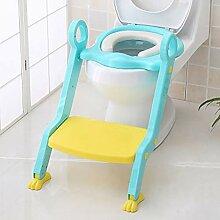 JLCP Kinder-Toilette Leiter Sitzhocker