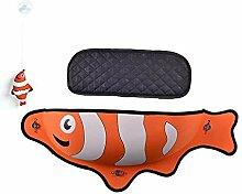 JLFAIRY 1 Stück Kreative Fisch Form Katze