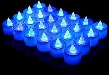 JLFDHR 24Pcs LED Kerzenlampe Multicolor