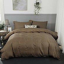 JLU Streifen Bettbezug Sets Mandala Bett Polyester
