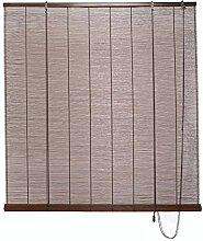 JLXJ Rollos Verdunkelungs Fenster Tür Bambus