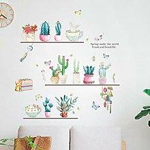 JLZK PflanzeWandaufkleber Kinderzimmer