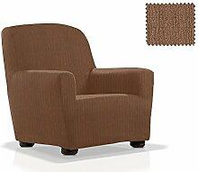 JM Textil Bielastische Sessel-Husse Bastet Größe 1 Sitzer (von 70cm bis 110cm) Farbe 07