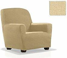 JM Textil Bielastische Sessel-Husse Eneasis Größe 1 Sitzer (von 70cm bis 110cm) Farbe 00