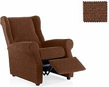 JM Textil Bielastische Sessel-Husse relax Dama Größe 1 Sitzer (Standard.), Farbe 07