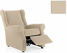 JM Textil Bielastische Sessel-Husse relax Nitas Größe 1 Sitzer (Standard), Farbe 01