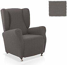 JM Textil Elastische Husse für Ohrensessel Alana Größe 1 Sitzer (Standard), Farbe 06