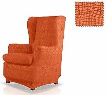 JM Textil Elastische Husse für Ohrensessel Maiki Größe 1 Sitzer (Standard), Farbe 09
