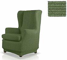 JM Textil Elastische Husse für Ohrensessel Simba Größe 1 Sitzer (Standard), Farbe 04