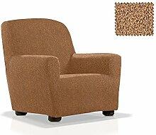 JM Textil Elastische Sessel-Husse Misi Größe 1 Sitzer (von 70cm bis 110cm) Farbe 10