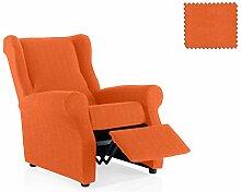 JM Textil Elastische Sessel-Husse relax Alana Größe 1 Sitzer (Standard), Farbe 19