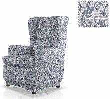 JM Textil Husse für Ohrensessel Elton Größe 1 Sitzer (Standard), Farbe 03