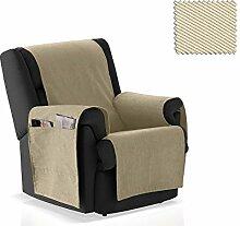 JM Textil Sessel-Schoner Okay Größe 1 Sitzer (55cm), Farbe 01
