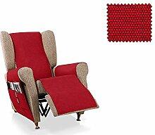 JM Textil Sessel-Schoner relax Pistu Größe 1 Sitzer (55cm), Farbe 08