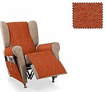 JM Textil Sessel-Schoner relax Pistu Größe 1 Sitzer (55cm), Farbe 19
