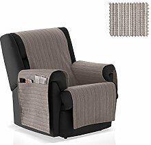 JM Textil Sessel-Schoner Rino Größe 1 Sitzer (55cm), Farbe 06