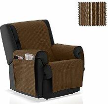 JM Textil Sessel-Schoner Rino Größe 1 Sitzer (55cm), Farbe 07