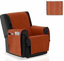 JM Textil Sessel-Schoner Rino Größe 1 Sitzer (55cm), Farbe 09