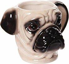 JMAHM Tier-Tasse, kreative 3D-Keramik-Tasse,