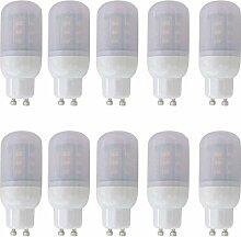 JMSL GU10 LED Lampen 4W, Warmweiß, 5730 SMD 24